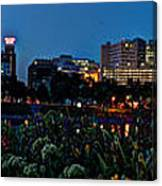 In The Glow Of Harrisburg Canvas Print