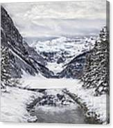 In The Heart Of The Winter Canvas Print