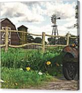In The Heartland Canvas Print