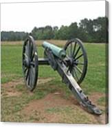In The Line Of Fire - Manassas Battlefield Canvas Print