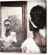 In The Mirror Canvas Print