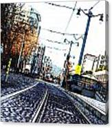 In The Path Of A Cable Car Canvas Print