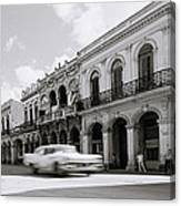 The Streets Of Havana Canvas Print