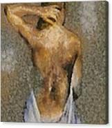 In The Turkish Bath Canvas Print