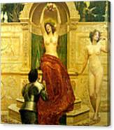 In The Venusberg Tannhauser Canvas Print