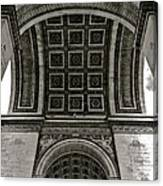 In Triomphe Canvas Print
