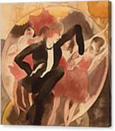 In Vaudeville Canvas Print