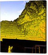 Incan Ruins Sacred Valley Peru Canvas Print