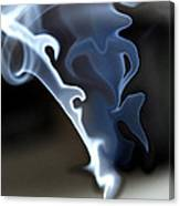 Incense Smoke Dance - Smoke - Dance Canvas Print