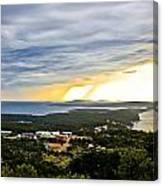 Incoming Storm Over Losinj Island Canvas Print
