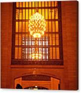 Incredible Art Nouveau Antique Grand Central Station - New York Canvas Print
