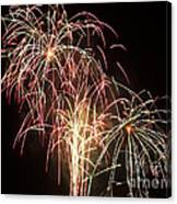 Independence Day Fireworks Canvas Print