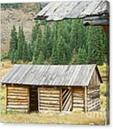Independence Ghost Town Canvas Print