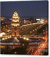 Independence Monument, Cambodia Canvas Print