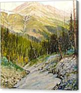 Independence Pass Canvas Print