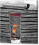 Independent Sunset Canvas Print