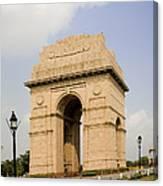 India Gate, New Delhi, India Canvas Print