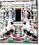 India Religion Canvas Print