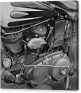 Indian Engine Canvas Print
