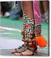 Indian Feet Canvas Print