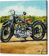 Indian Four 1933 Canvas Print