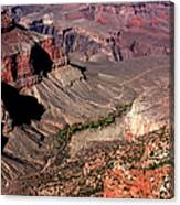 Indian Gardens In The Grand Canyon Canvas Print