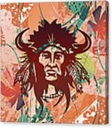 Indian Head Series 02 Canvas Print