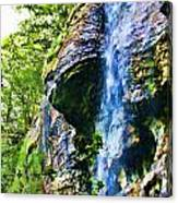Indian Ladder Falls 2 Canvas Print