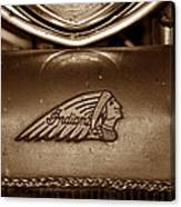 Indian Motorcycles Canvas Print