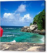 Indian Ocean Moyenne Island Seychelles Canvas Print