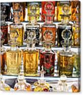 Indian Perfume Bottles Canvas Print