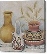 Indian Pots Canvas Print