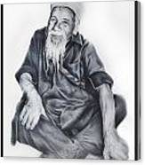Indian Priest Canvas Print