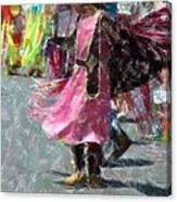 Indian Princess Dancer Canvas Print