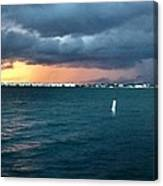 Indian River Lagoon Florida Storm Canvas Print