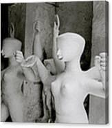 Indian Sculpture Canvas Print