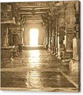 Indian Temple Canvas Print