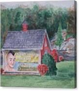 Indian Valley Farm Canvas Print