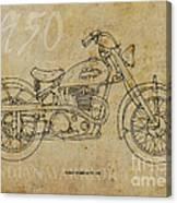 Indian Warrior Tt 1950 Canvas Print