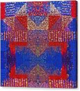Indian Weave Abstract Canvas Print