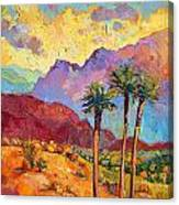 Indian Wells Canvas Print
