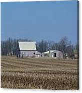 Indiana Barns Canvas Print