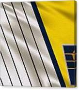 Indiana Pacers Uniform Canvas Print