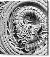 Indiana University Limestone Detail Canvas Print