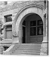 Indiana University Maxwell Hall Entrance Canvas Print