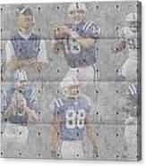 Indianapolis Colts Legends Canvas Print