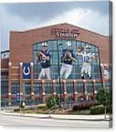 Indianapolis Colts Lucas Oil Stadium Canvas Print
