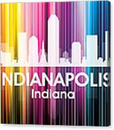Indianapolis In 2 Canvas Print