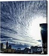 Indianapolis Sky Canvas Print