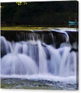 Indianhead Dam - Montgomery County Pa. Canvas Print